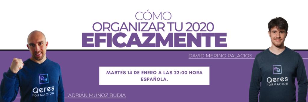 Cómo organizar tu 2020
