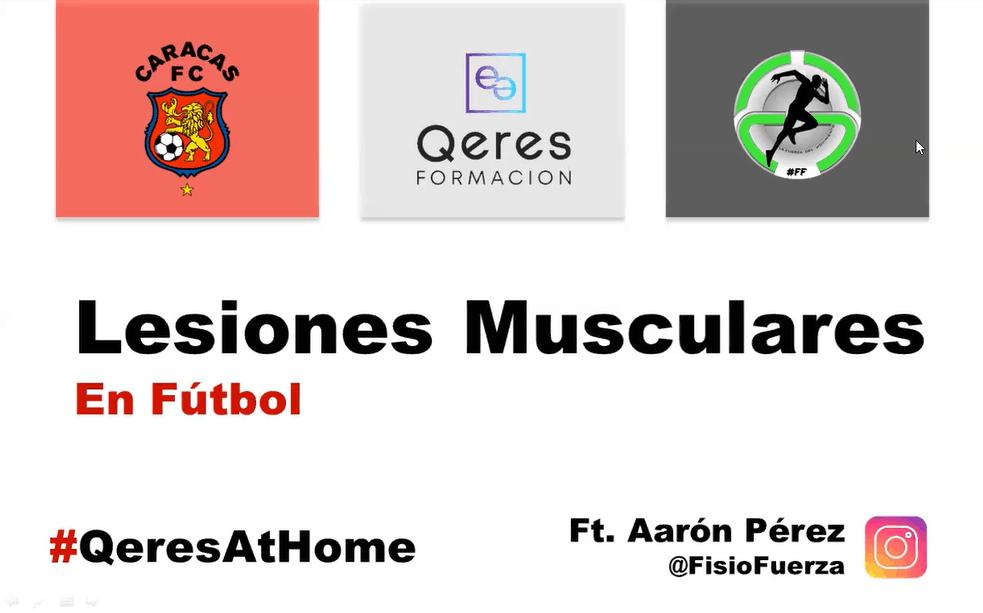 Lesiones musculares en deporte