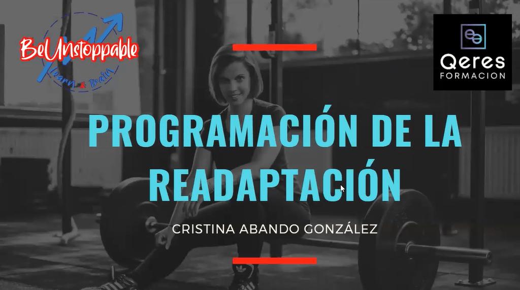 Programación de la readaptación